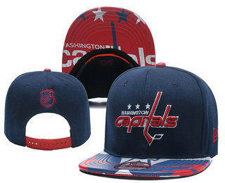 Washington Capitals Snapback Ajustable Cap Hat YD