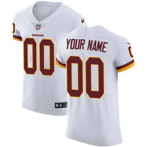 san francisco 4a641 e95ab Men's Nike Washington Redskins Customized White Vapor ...