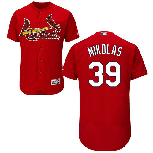 St.Louis Cardinals #39 Miles Mikolas Red Flexbase Authentic Collection Stitched Baseball Jersey