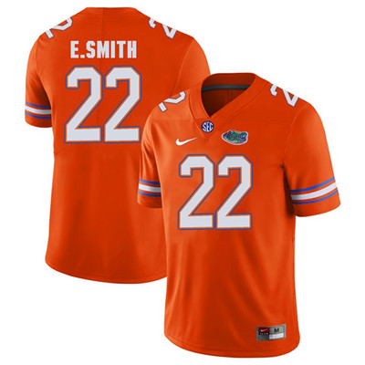 Florida Gators Orange #22 Emmitt Smith Football Player Performance Jersey