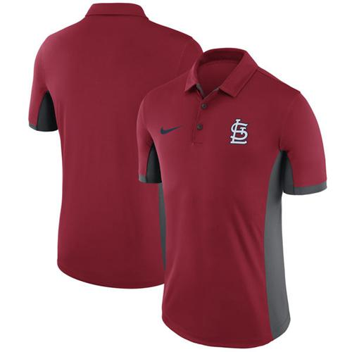 Men's St. Louis Cardinals Nike Red Franchise Polo