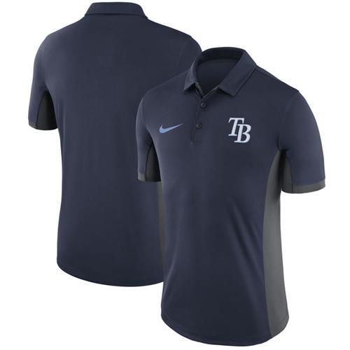 Men's Tampa Bay Rays Nike Navy Franchise Polo