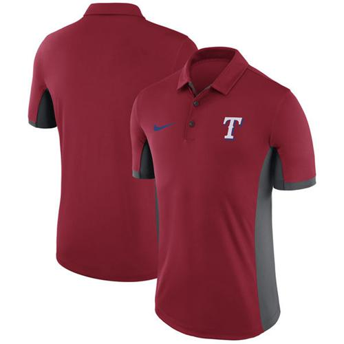 Men's Texas Rangers Nike Red Franchise Polo