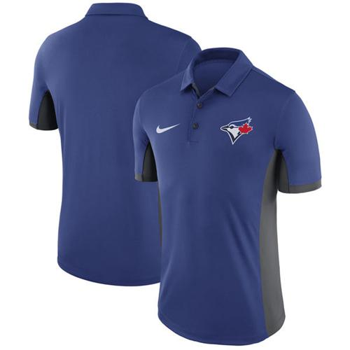 Men's Toronto Blue Jays Nike Royal Franchise Polo