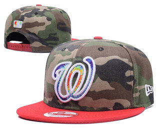 Washington Nationals Snapback Ajustable Cap Hat 4