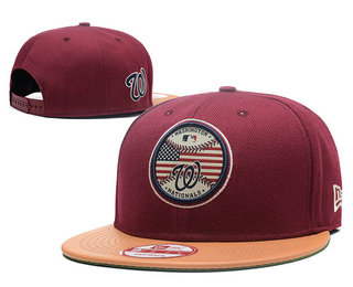 Washington Nationals Snapback Ajustable Cap Hat 6