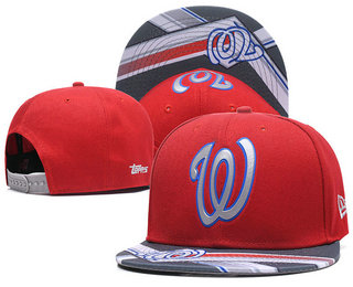 Washington Nationals Snapback Ajustable Cap Hat 7