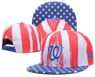 Washington Nationals Snapback Ajustable Cap Hat 1