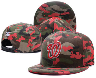 Washington Nationals Snapback Ajustable Cap Hat 5