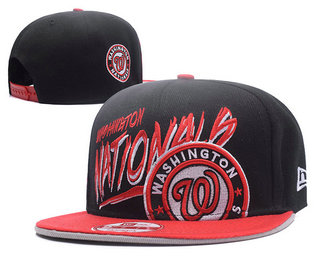 Washington Nationals Snapback Ajustable Cap Hat