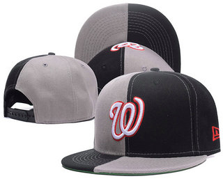 Washington Nationals Snapback Ajustable Cap Hat 2