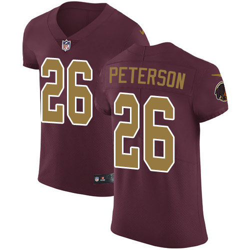Nike Washington Redskins #26 Adrian Peterson Burgundy Red Alternate Men's Stitched NFL Vapor Untouchable Elite Jersey