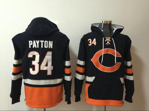 Chicago Bears 34 Walter Payton 2017 NFL hoddie