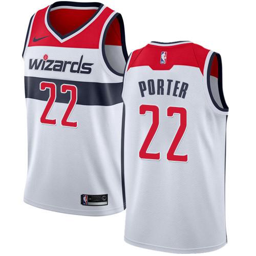 18148a448c8 Nike Wizards #22 Otto Porter White NBA Swingman Association Edition Jersey