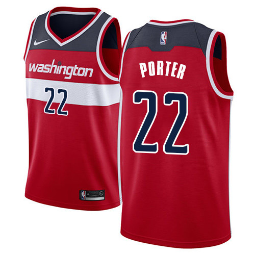 70efbe29964 Nike Wizards #22 Otto Porter Red NBA Swingman Icon Edition Jersey