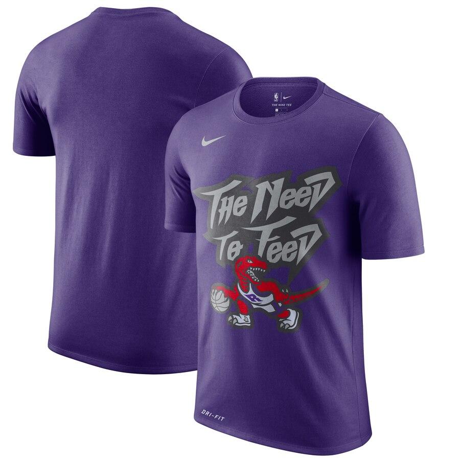 Toronto Raptors Nike Hardwood Classics Hometown Vintage T-Shirt Purple