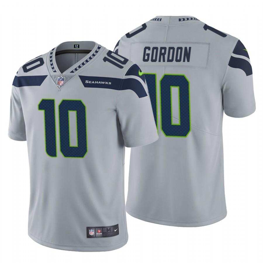 Nike Seahawks #10 Josh Gordon Gray Men's Vapor Untouchable Limited ...