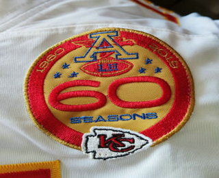 Kansas City Chiefs 60 Season Patch