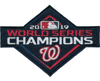 2019 MLB World Series Champions Washington Nationals Jersey Patch