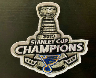 St. Louis Blues 2019 Stanley Cup Champions Patch