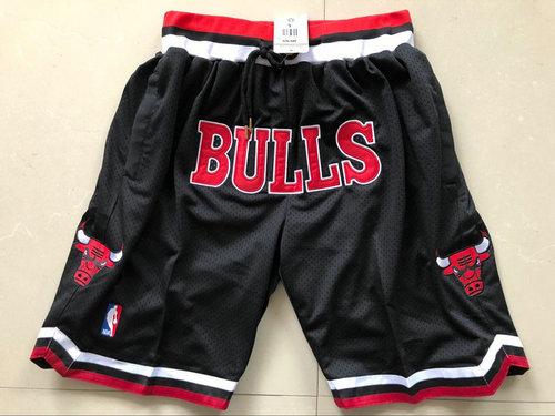 Bulls Black 1997-98 Limited Shorts