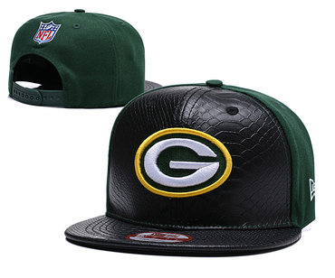 NFL Green Bay Packers Team Logo Green Fitted Hat YD