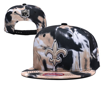 NFL New Orleans Saints Camo Hats