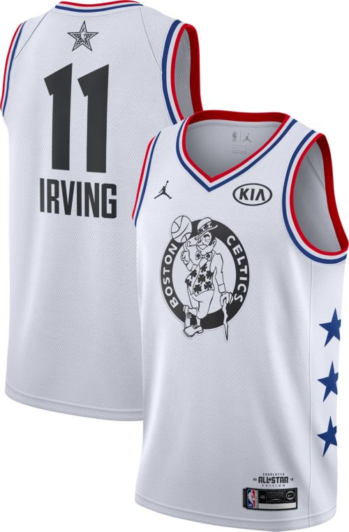 Jordan Men's 2019 NBA All-Star Game #11 Kyrie Irving White Dri-FIT Swingman Jersey
