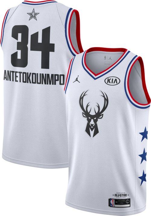 the latest bd73e a71fe Jordan Men's 2019 NBA All-Star Game #34 Giannis ...