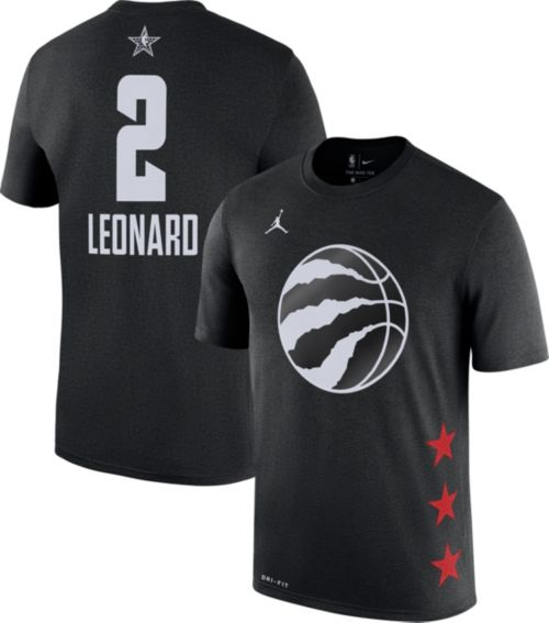 Jordan Men's 2019 NBA All-Star Game #2 Kawhi Leonard Dri-FIT Black T-Shirt