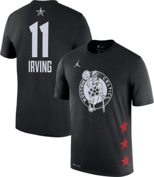 Jordan Men's 2019 NBA All-Star Game #11 Kyrie Irving Dri-FIT Black T-Shirt