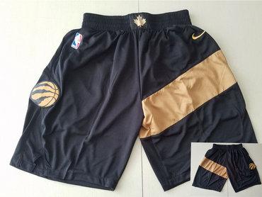 Men's Toronto Raptors Black Nike Swingman Shorts