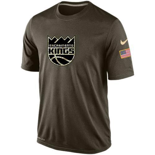 Sacramento Kings Salute To Service Nike Dri-FIT T-Shirt