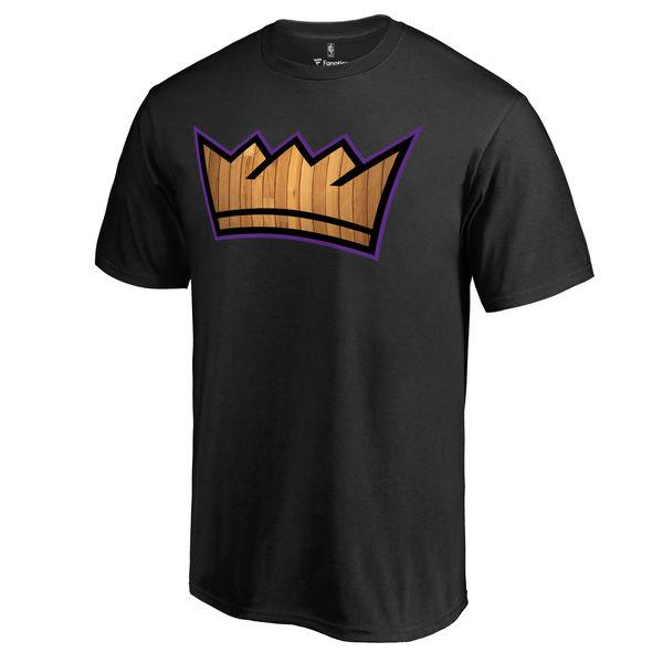 Men's Sacramento Kings Black Hardwood T-Shirt