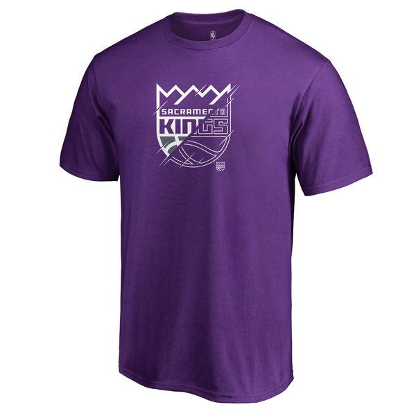 Men's Sacramento Kings Fanatics Branded Purple X-Ray T-Shirt