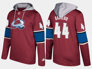 designer fashion 97994 cea92 Adidas Colorado Avalanche 44 Mark Barberio Name And Number ...