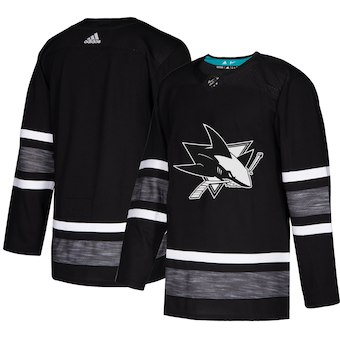Men's San Jose Sharks Black 2019 NHL All-Star Game Adidas Jersey