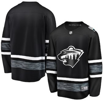 Men's Minnesota Wild Black 2019 NHL All-Star Game Adidas Jersey