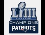 2019 Super Bowl LIII Champion Patch
