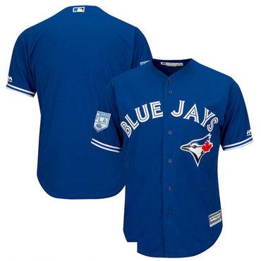 Men's Toronto Blue Jays Royal 2019 Spring Training Cool Base Jersey