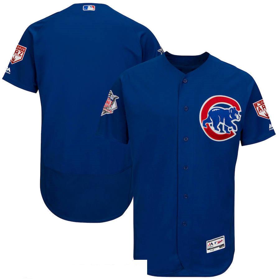 Men's Chicago Cubs Royal 2019 Spring Training Flexbase Jersey