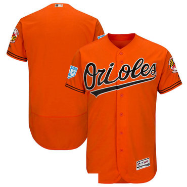 Men's Baltimore Orioles Orange 2019 Spring Training Flexbase Jersey