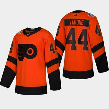 Men s  44 Phil Varone Flyers Coors Light 2019 Stadium Series Orange  Authentic Jersey 28d8a429a
