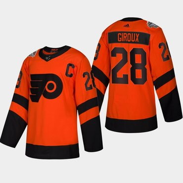 best sneakers a2a9c 78bdc Men's #28 Claude Giroux Flyers Coors Light 2019 Stadium ...