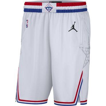 2019 NBA All-Star White Jordan Brand Swingman Shorts