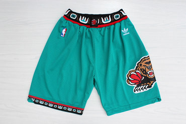 Men's Memphis Grizzlies Teal Hardwood Classics Shorts