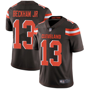 Youth Nike Cleveland Browns #13 Odell Beckham Jr Brown Vapor Untouchable Limited Jersey