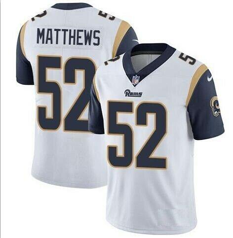 b9031020 NFL Los Angeles Rams 52 Clay Matthews Football Jersey Stitched