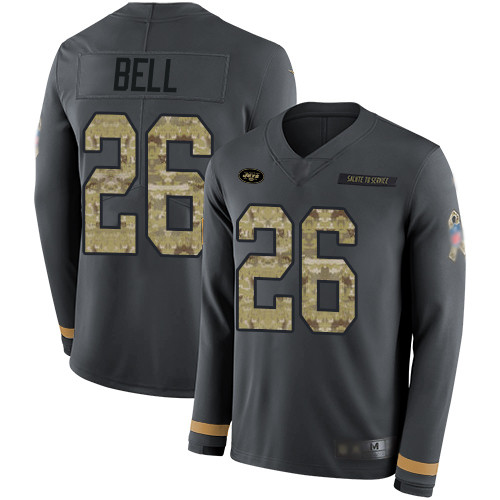 Nike New York Jets 26 Le'Veon Bell White Vapor Untouchable Limited  supplier