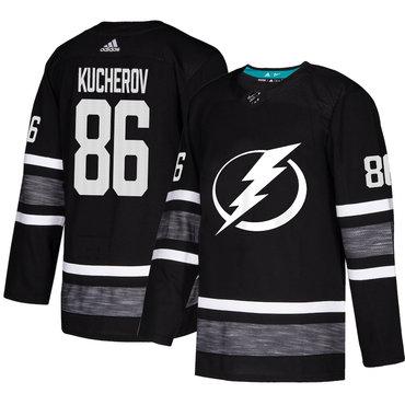 Lightning #86 Nikita Kucherov Black Authentic 2019 All-Star Stitched Hockey Jersey
